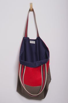 Ray Stitch Limited Edition Organic Cotton Canvas Bag - Colourway | Buy online and in-store from Ray Stitch