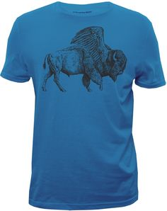 Buffalo Wings - graphic tshirt Designed for Bluenotes