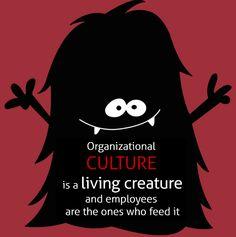 Organizational CULTURE is a living creature