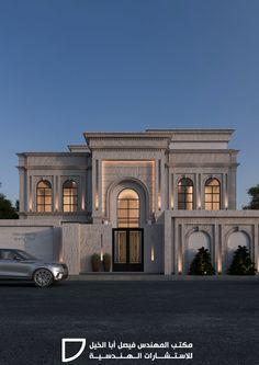 Classic House Exterior, Classic House Design, Unique House Design, House Paint Exterior, Dream House Exterior, House Outside Design, House Gate Design, Facade Design, Modern House Facades