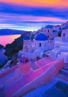 Santorini- I have always wanted to go here!!