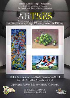 Exposición: Artres @ Juncos #sondeaquipr #artepr #juncos #escuelabellasartes #artres