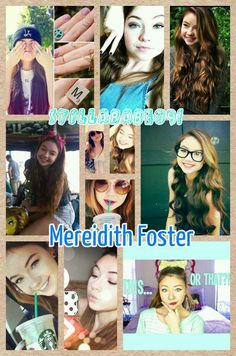 Meredith Foster  A.K.A Stillababe09