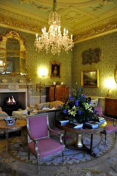 Take tea at Hartwell House,, Buckinghamshire, England
