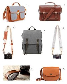 ONA Camp's Bay and Brooklyn in Apartment Therapy's Photo Ready: Stylish Camera Bags & Accessories List