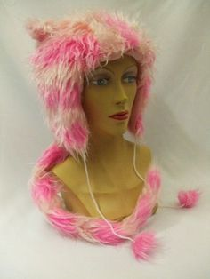 Cheshire Cat ~ Hat and Tail Set ~ Plush Fur ~ Alice in Wonderland ~ A | eBay £26.00