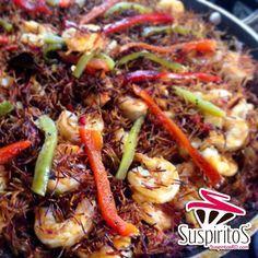 Fideua #fideua #seafood #shelfish #fish #pescado #mariscos #shrimp #camaron #pasta #fideo #noodles