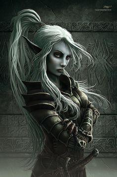 Female Elf Warrior Gallery I Fantasy Warrior, Elf Warrior, Fantasy Girl, Dark Fantasy, 3d Fantasy, Fantasy Kunst, Fantasy Women, Woman Warrior, Elven Woman