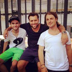 Zedd, Sebastian Ingrosso, and Axwell!