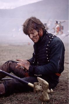 Sean Bean - Richard Sharpe. The Golden Eagle. I've always wanted his uniform. Look at all the buttons!