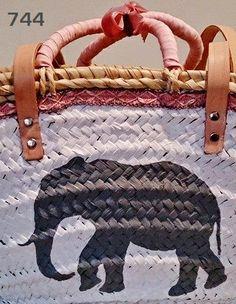 744&CAPAZOS Nueva Colección 2014 Mod.Elefante HAND PAINTED