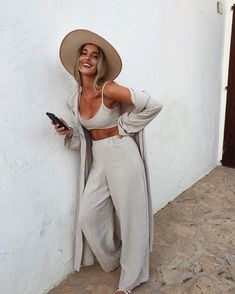 Casual Fashion Show Outfit .Casual Fashion Show Outfit Summer Holiday Outfits, Spring Summer Fashion, Spring Outfits, Autumn Outfits, Classy Summer Outfits, Cute Hippie Outfits, Summer Pants Outfits, Winter Fashion, Holiday Fashion