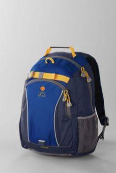 Boys  Solid ClassMate® Medium Backpack from Lands  End 89b1243ec5ed1