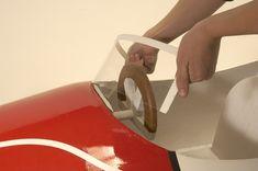 Selbst ist der Mann - Bauplan: Seifenkiste 06/2008 Planer, Plastic Cutting Board, Autos, Diy Car, Crate, Tutorials, Tools