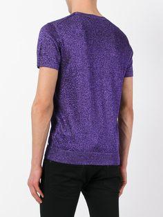 Dsquared2 short sleeve lurex knit