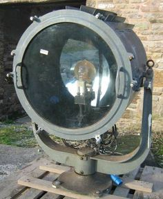 1930 S Crouse Hinds Ship Or Industrial Spot Light