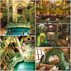 Angawi House in Saudi Arabia, home of Jeddah architect Dr. Sami Angawi. Truly a fantasy house.