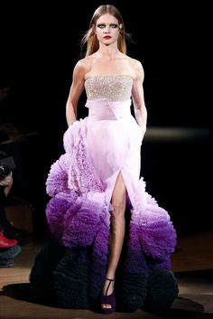 haute couture  | Givenchy Haute Couture Spring Summer 2010 | Canadian Beauty