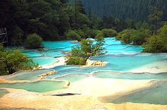 Visit China – the Mysterious Country, Nine Villages Valley, Sichuan