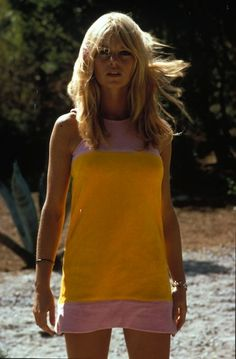 BRIGITTE BARDOT rocks the pink/yellow