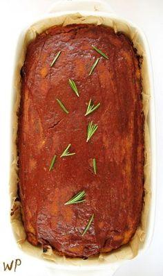 Pasztet warzywny fit, bezglutenowy – PIECZEŃ wegańska