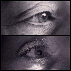 Lashes zijn ook perfect voor het creëeren van een openere blik! Wilma is er in ieder geval blij mee!   Lots of Love Little Black Lash