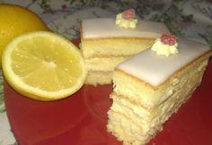 Citromos szelet salgó konyhájából Vanilla Cake, Cheesecake, Lemon, Sweets, Cookies, Recipes, Food, Candy, Crack Crackers