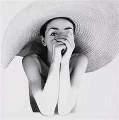 wide-brimmed beach hat, by walter vogel