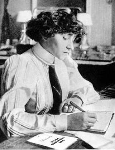 Sidonie-Gabrielle Colette  She looks so prim here … don't judge a book by its cover!