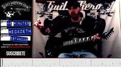 Como tocar 44 minutes (Megadeth) by GuitarFiero