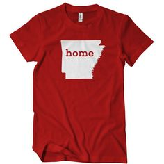 Arkansas Home T-Shirt Funny Cheap Tees TextualTees.com - 8