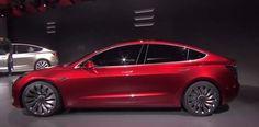 Tesla Model 3, επίσημη παρουσίαση Part 1