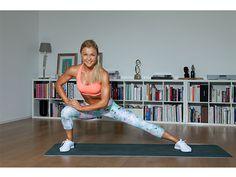 Sophia Thiel macht Übung