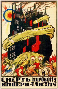 Soviet propaganda Posters– the beginning