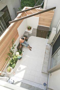 Home Garden Design, Interior Garden, Home And Garden, House Design, Condo Balcony, Rooftop Design, Decks And Porches, Garden Inspiration, Outdoor Living
