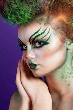 Ko Kelly Odeil. MUA. mermaid make up