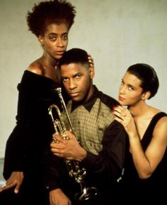 Joie Lee, Denzel Washington, Cynda Williams for Mo Better Blues. Spike needs to get back to making movies!!