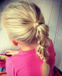 carousel braid, lace braid, back-to-school hair