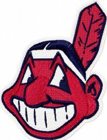 Cleveland Indians logo machine embroidery design. Machine embroidery design. www.embroideres.com