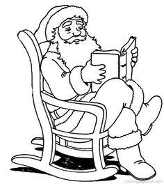 Christmas Santa Claus Coloring Pages 81