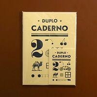 duplo caderno - by serrote