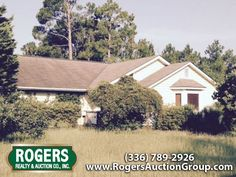 4 BR/2 BA/1,700+ Sq Ft Home in Wilmington, NC - Selling at Auction on Thursday,September, 10th at 12:00pm. Fenced Back Yard & Pool on a Corner Lot. Learn More Now! Www.RogersAuctionGroup.com