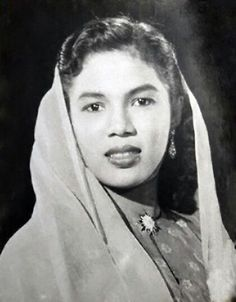 Zaiton Abdullah one of the most popular and talented Malay film actresses in the 1950s and 1960s.