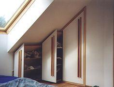 Dachbodenschränke
