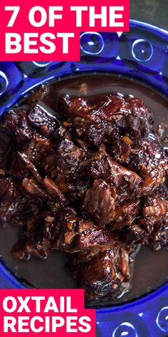 to Try: 7 Oxtail Recipes You Didn't Know You Needed in Your Life Oxtail is different but delicious. Here are 7 oxtail recipes you need to try now.Oxtail is different but delicious. Here are 7 oxtail recipes you need to try now. Jamaican Oxtail Stew, Beef Oxtail, Oxtail Soup, Braised Oxtail, Oxtail Recipes Crockpot, Meat Recipes, Oven Recipes, Curry Recipes, Soul Food Recipes