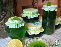 Рецепт: Лимонно-мятное варенье