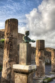 Pompeii, Campania, Italy- Unbelieve what the early Romans were able to do. to must to see while in Italy.