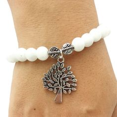 Hey, I found this really awesome Etsy listing at https://www.etsy.com/listing/246282618/tree-of-life-handmade-white-bead