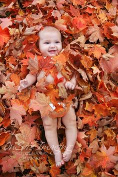 Cute for a newborn, just not covering the baby completely with leaves, have just…