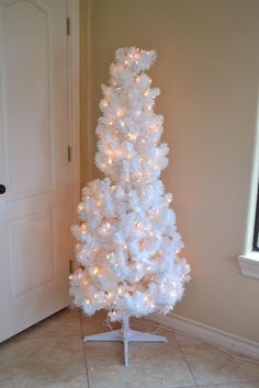 I've long wanted a rainbow Christmas tree but snagged the ornaments just last year to finally make it happen. Setting up my white Christmas tree I realized that…